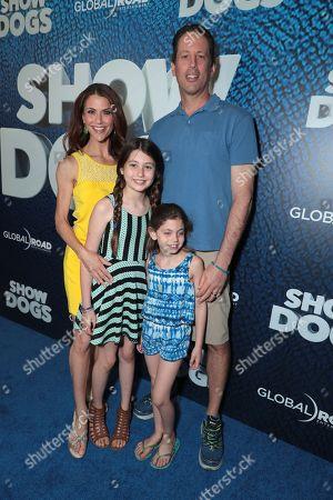 Samantha Harris and family
