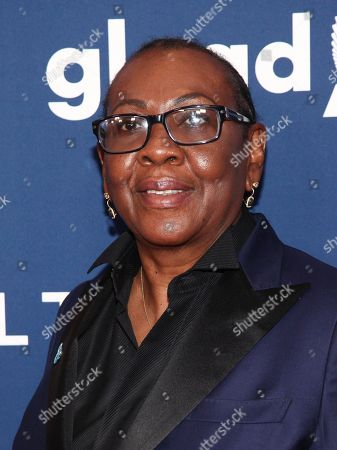 Gloria Carter attends the 29th Annual GLAAD Media Awards at the New York Hilton, in New York