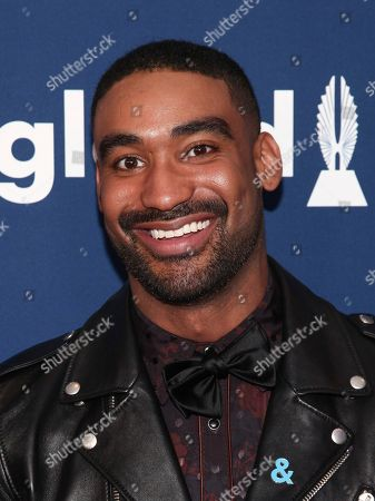 Zeke Thomas attends the 29th Annual GLAAD Media Awards at the New York Hilton, in New York