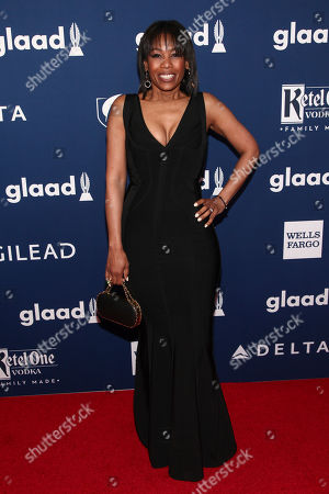 Amiyah Scott attends the 29th Annual GLAAD Media Awards at the New York Hilton, in New York