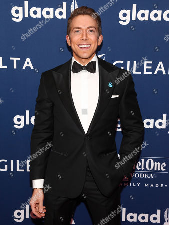 Baruch Shemtov attends the 29th Annual GLAAD Media Awards at the New York Hilton, in New York