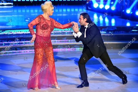 Editorial image of 'Dancing with the Stars' tv show, Rome, Italy - 06 May 2018