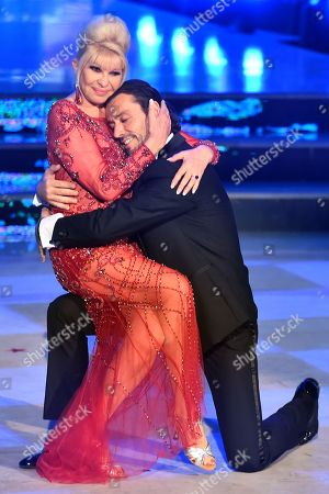 Stock Picture of Ivana Trump and Rossano Rubicondi