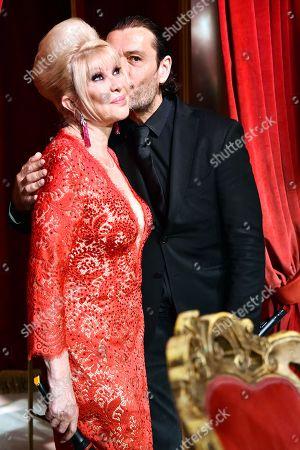 Ivana Trump and Rossano Rubicondi