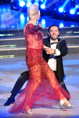 Editorial picture of 'Dancing with the Stars' tv show, Rome, Italy - 06 May 2018