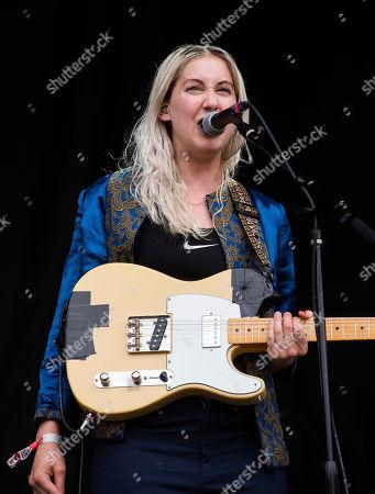 Mackenzie Scott aka Torres, performs on stage at Shaky Knees Music Festival, in Atlanta