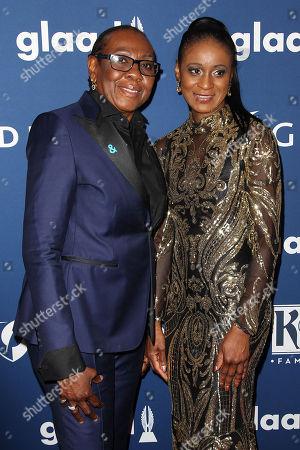 Gloria Carter and Roxanne Wilshire