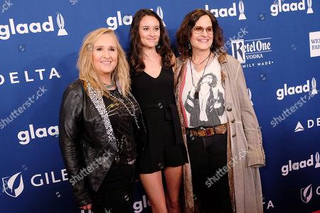 Melissa Etheridge, Bailey Cypher and Linda Wallem