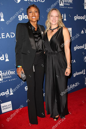 Stock Image of Robin Roberts and Amber Laign