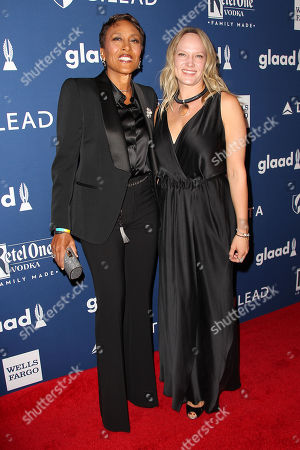 Stock Photo of Robin Roberts and Amber Laign