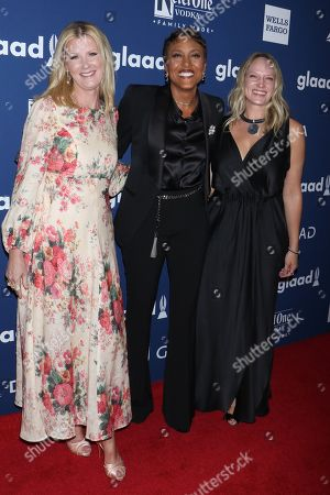 Sandra Lee, Robin Roberts and Amber Laign