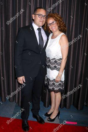 Paul Marcarelli and Sharon Michaels