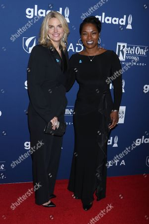 Sarah Kate Ellis, GLAAD CEO and President and Pamela Stewart, GLAAD Board Member