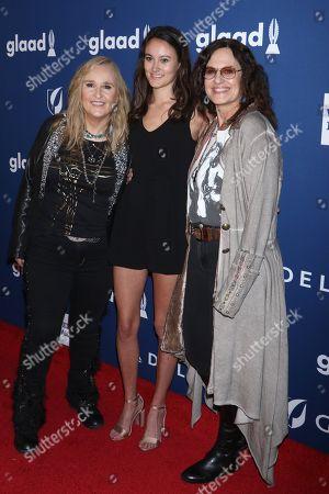 Melissa Etheridge, Bailey Cypheridge, Linda Wallem