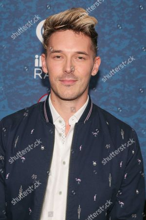 Sam Palladio arrives at the iHeartCountry Festival at the Frank Erwin Center, in Austin, Texas