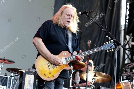 Stock Photo of Artist Warren Haynes of Gov't Mule performs on the River Stage at Beale Street Music Festival on in Memphis, Tenn