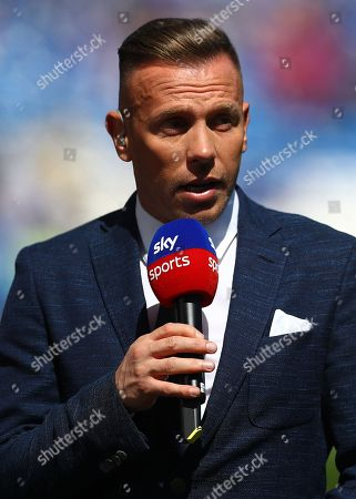 Stock Picture of Sky Sports pundit Craig Bellamy