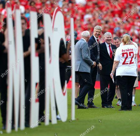Editorial image of Arsenal v Burnley, Premier League, Emirates Stadium,  London, UK - 6 May 2018