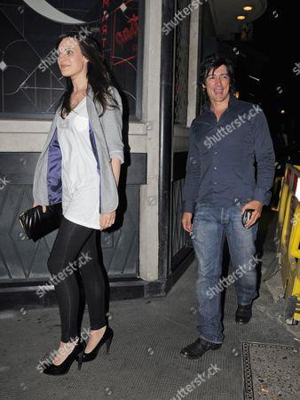 Adam Croasdell and girlfriend