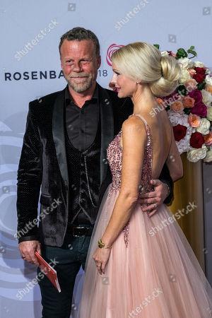 Editorial picture of BERTELSMANN Rosenball 2018, Berlin, Germany - 05 May 2018