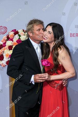 Alexandra Polzin mit Ehemann Gerhard Leinauer