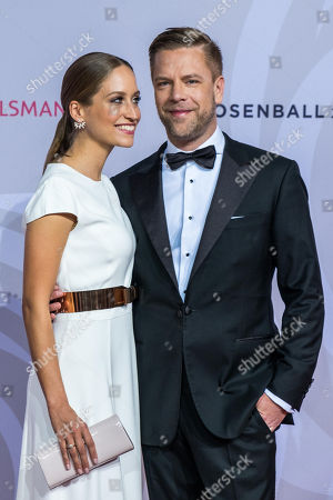 Tom Gaebel mit Ehefrau Saskia Runge