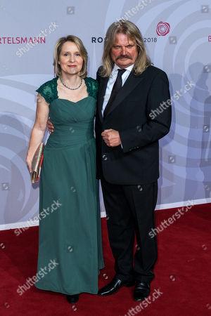 Leslie Mandoki mit Ehefrau Eva Mandoki