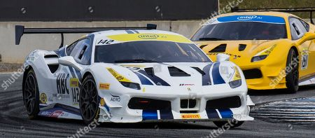 Editorial picture of Ferrari Challenge Coppa Shell Race 1, Monterey, USA - 05 May 2018