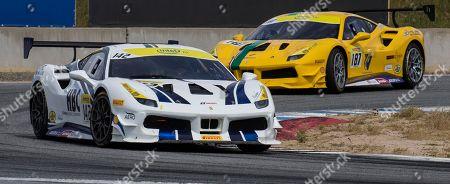 Editorial image of Ferrari Challenge Coppa Shell Race 1, Monterey, USA - 05 May 2018