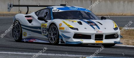 Editorial image of Ferrari Challenge Coppa Shell Race 1, Monterey, USA - 05 May 2018