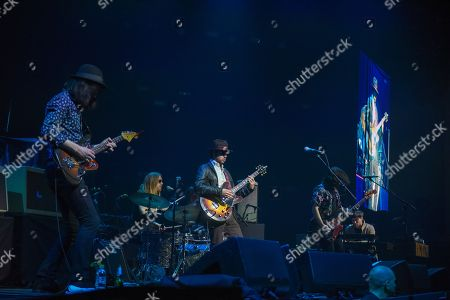 Editorial photo of The Coral in concert at Motorpoint Arena, Cardiff, UK - 05 May 2018
