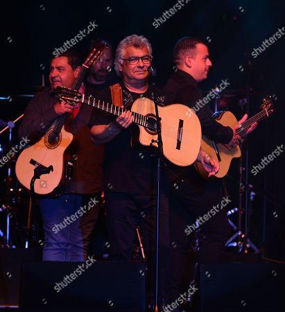 Tonino Baliardo, Nicolas Reyes and Georges-Baule Reyes of The Gipsy Kings