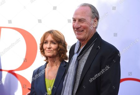 "Stock Image of Craig T Nelson, Doria Cook-Nelson. Craig T Nelson, right, and Doria Cook-Nelson arrive at the Los Angeles premiere of ""Book Club"" at the Regency Village Theatre on"