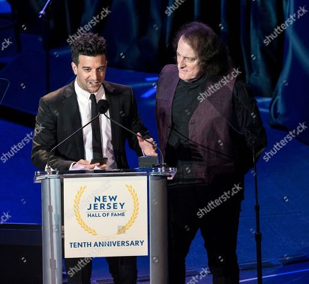 Stock Picture of Mark Ballas and Tommy James