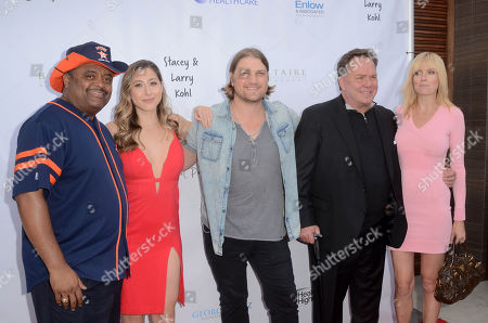 Stock Image of Roland Martin, Elizabeth Small, Billy Dawson, Mark Enlow, Eugenia Kuzmina