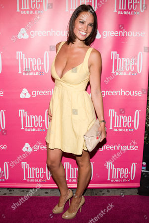 Editorial picture of Three-O Vodka Bubble Launch Party at Greenhouse, New York, America - 09 Jul 2009