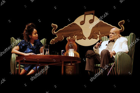 Editorial picture of A Conversation with Harry Belafonte, New York, USA - 05 May 2018