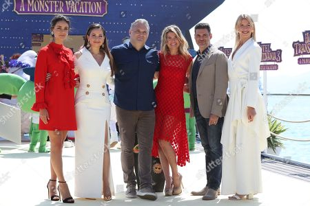 Janina Use, Raya Abirached, film director Genndy Tartakovsky, Anke Engelke, Rick Kavanian, Lesia Nikitiuk