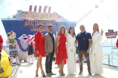 Janina Uhse, Rick Kavanian, Anke Engelke, Raya Abirached, film director Genndy Tartakovsky, Lesia Nikitiuk
