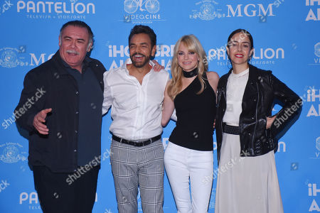 Jesus Ochoa, Eugenio Derbez, Anna Faris and Cecilia Suarez