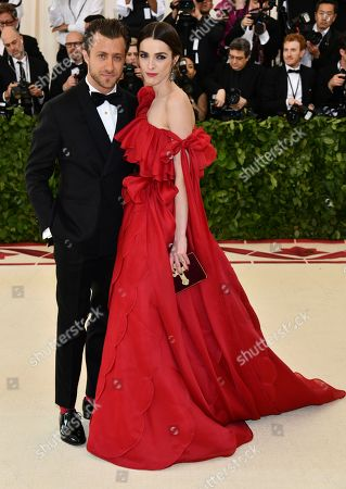 Francesco Carrozzini, Bee Shaffer. Francesco Carrozzini, left, and Bee Shaffer attend The Metropolitan Museum of Art's Costume Institute benefit gala celebrating the opening of the Heavenly Bodies: Fashion and the Catholic Imagination exhibition, in New York