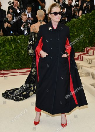 Lisa Love attends The Metropolitan Museum of Art's Costume Institute benefit gala celebrating the opening of the Heavenly Bodies: Fashion and the Catholic Imagination exhibition, in New York