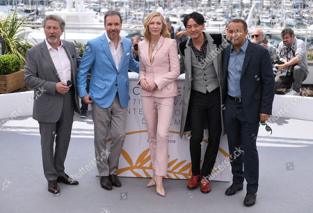 Robert Guediguian, Denis Villeneuve, Cate Blanchett, Chang Chen and Andrey Zvyagintsev
