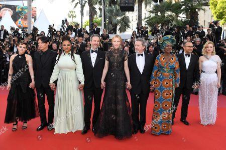 Kristen Stewart, Chang Chen, Ava DuVernay, Denis Villeneuve, Cate Blanchett, Robert Guediguian, Khadja Nin, Andrey Zvyagintsev and Lea Seydoux