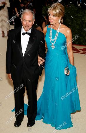 Christine Schwarzman and Stephen Schwarzman