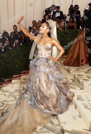 Editorial image of 2018 Metropolitan Museum of Art Costume Institute Benefit - Red Carpet, New York, USA - 07 May 2018