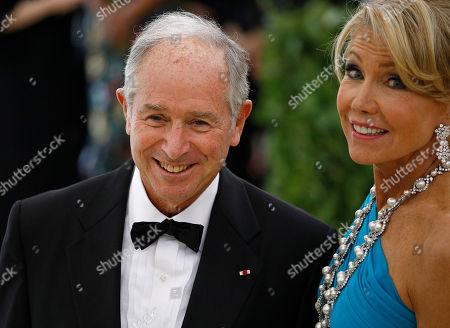 Christine Schwarzaman and Stephen Schwarzman