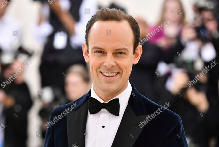 Harry Hadden-Paton attends The Metropolitan Museum of Art's Costume Institute benefit gala celebrating the opening of the Heavenly Bodies: Fashion and the Catholic Imagination exhibition, in New York