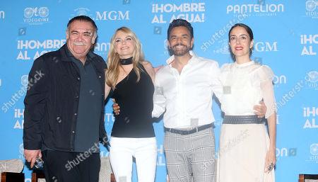 Jesus Ochoa, Anna Faris, Eugenio Derbez and Cecilia Suarez