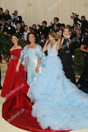 Editorial image of The Costume Institute Benefit Celebrating the exhibition 'Heavenly Bodies: Fashion and The Catholic Imagination' on view from May 10 through October 8, 2018, Met Gala, New York, USA - 07 May 2018